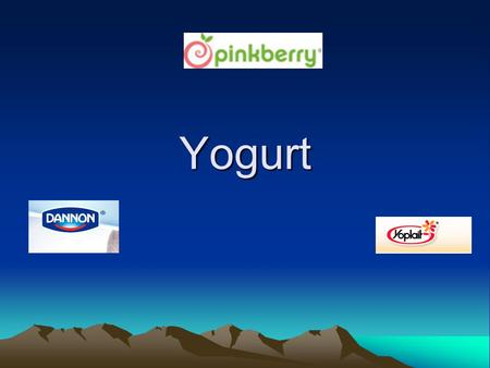 Yogurt. What is Yogurt? Bacterial fermentation of milk Lactobacillus acidophilus bacteria consume the sugar in milk (lactose) and produce lactic acid.