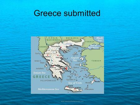 Greece submitted. Origin of Ancient Greek Food -bread -olive oil -figs -local cheeses.