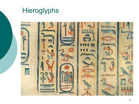 1 Hieroglyphs. 2 Outline  Introduction  Part I. Hieroglyphs deciphered  a. The Rosetta Stone  b. Champollion  Part II. How to read the hieroglyphs.