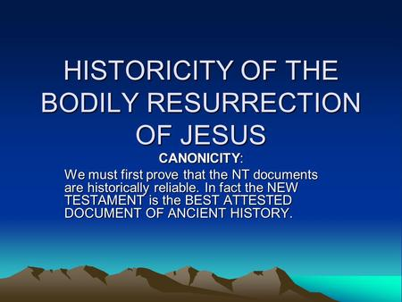 Is There Scientific Evidence for the Resurrection of Jesus Christ?