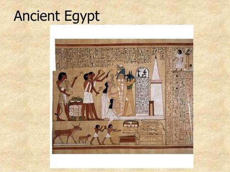 Ancient Egypt Geography Regions in Egypt: Nubia Upper Egypt Lower Egypt The Nile valley kemet The desert deshret.