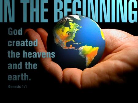 Evolution Theistic Evolution Progressive Creation Day Age Theory Gap Theory Literal Creation Theories of Earth's Beginning.