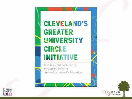 Greater Cleveland University Circle Initiative (GUCI) Introductory VideoVideo.