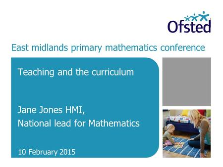 East midlands primary mathematics conference