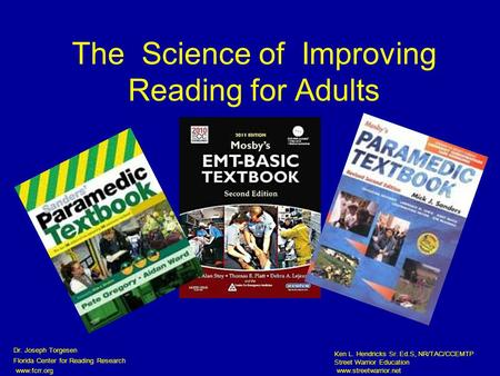 The Science of Improving Reading for Adults