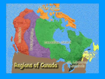 The Canadian Shield- Location