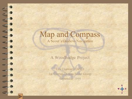 Map and Compass A Scout's Guide to Navigation