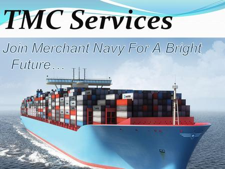 TMC SERVICES TMC Services is one of the pioneers in education Industry in India Govt. approved. Completed 9 years in education industry. Growing fastly.