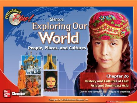 Splash Screen. Chapter Menu Chapter Introduction Section 1:Section 1:History and Governments Section 2:Section 2:Cultures and Lifestyles Visual <strong>Summary</strong>.