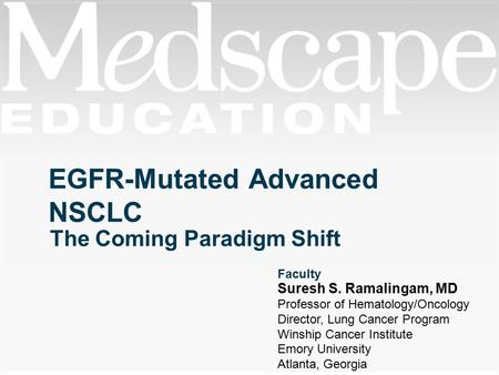 EGFR-Mutated Advanced NSCLC