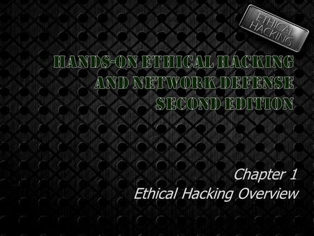 Chapter 1 Ethical Hacking Overview. Who Am I?  Kevin Riley  Systems / Network Analyst Orange Coast College    Phone 714.432.5949.