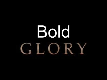 Bold. Such confidence as this is ours through Christ before God. 5 Not that we are competent in ourselves to claim anything for ourselves, but our competence.