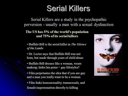 psychopathic serial killers essay Analysis of serial killers essaysevery human being have experience the feeling of urge, whether or not it is screaming and swearing in the church, or have a road rage.