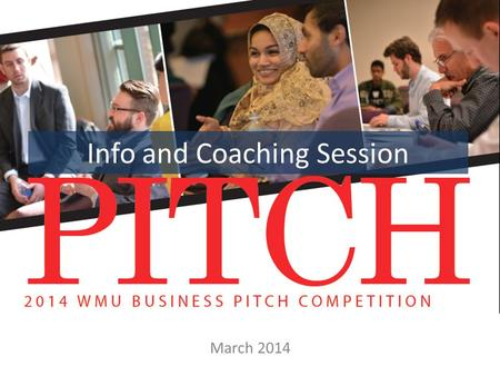 Info and Coaching Session March 2014. Agenda – Contact info – Important dates – What is the competition? – Structure of the competition – Prizes – Common.