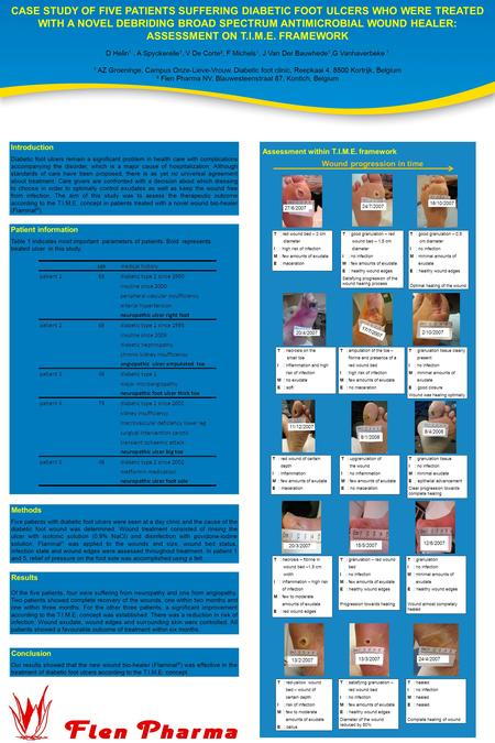 CASE STUDY OF FIVE PATIENTS SUFFERING DIABETIC FOOT ULCERS WHO WERE TREATED WITH A NOVEL DEBRIDING BROAD SPECTRUM ANTIMICROBIAL WOUND HEALER: ASSESSMENT.