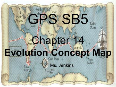 Chapter 14 Evolution Concept Map