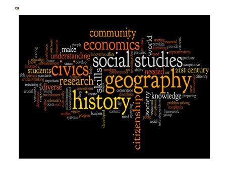 Course Syllabus 7th Grade Social Studies covers several areas of history mandated by the NJ State Department of Education in its Core Curriculum Content.