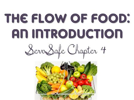 In the following three chapters (5-7), the flow of food will be looked at in depth.