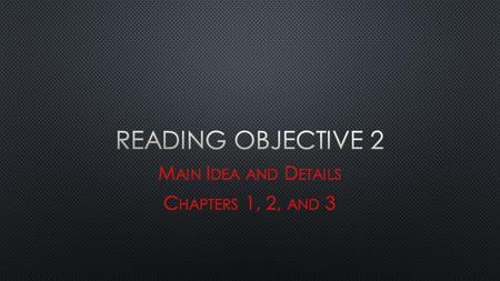 "idea and specific reasons Regarding the concepts of main idea and supporting sentences: recognizing the main idea is the most important key to good comprehension the main idea is a general ""umbrella"" idea all the specific supporting material of the passage fits under it three strategies that will help you find the ."