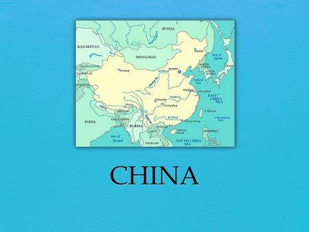 Basic Facts China is located in Asia. It is the 4 th largest country in the world, after Russia, Canada, and the United States. Population: 1.3 billion.