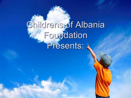 Childrens of Albania Foundation Presents:. Charity Concert Date- 20/03/2008 Date- 20/03/2008 Venue- National Stadium ¨Qemal Stafa¨ Capacity – 20 000 people.