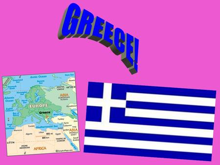 Name Greece (long form) Hellenic Republic Capital City Athens (pop. 3,216,200) (2006 est.) Land Area (land) 130,800 sq km (water) 1,140 sq km (TOTAL)