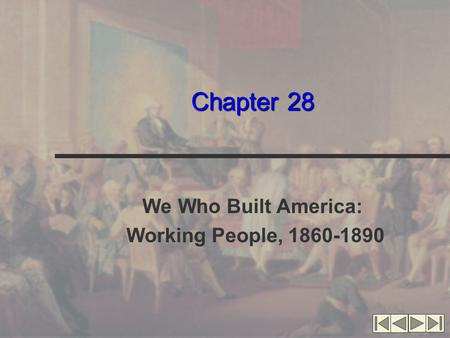 We Who Built America: Working People,
