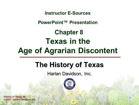 an analysis of agrarian discontent in the late 1800s The latter part of the 19th century was a period of agrarian unrest in the  midwestern united states from 1865 to 1896, farmer protests led to the  formation of.