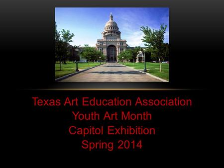 Texas Art Education Association Youth Art Month Capitol Exhibition Spring 2014.