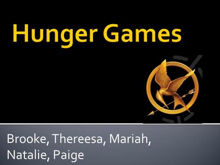 Brooke, Thereesa, Mariah, Natalie, Paige. You held your head like a hero On a history book page It was the end of a decade But the start of an age Long.