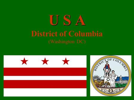 U S A U S A District of Columbia (Washington DC)