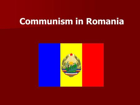 Communism in Romania. In 1965, Nicolae Ceauşescu came to power and started to pursue independent policies such as being the only Warsaw Pact country to.