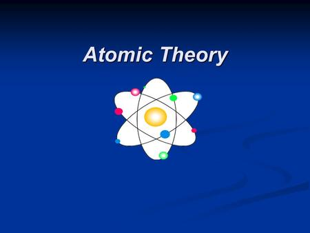 Atomic Theory. Defining the Atom The Greek philosopher Democritus (460 B.C. – 370 B.C.) was among the first to suggest the existence of atoms (from the.