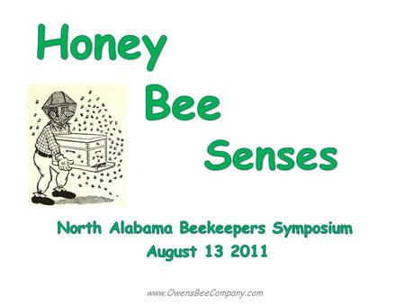 North Alabama Beekeepers Symposium
