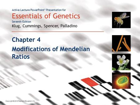 Modifications of Mendelian Ratios
