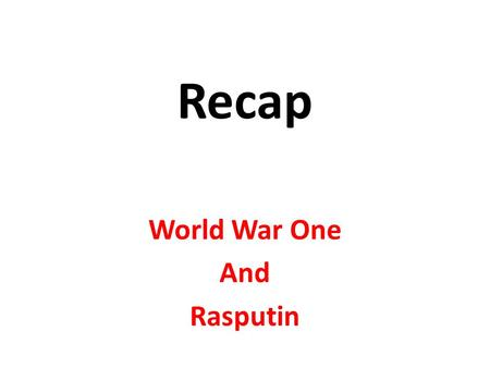 the fall of tsarism in russia essay With the mounting pressures of world war i, combined with years of injustice toppled the rule of tsar nicholas ii of russia in march 1917.