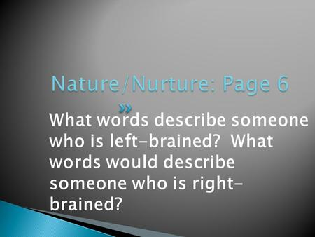 Nature Nurture And Human Diversity Chapter  Answers