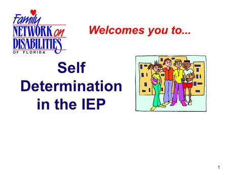 Self Determination in the IEP