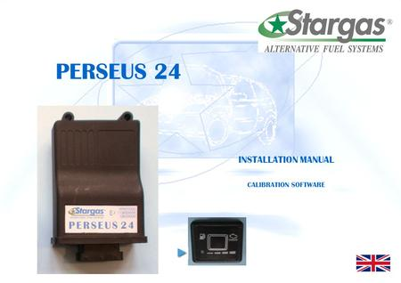 PERSEUS 24 INSTALLATION MANUAL CALIBRATION SOFTWARE.