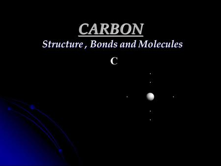 Structure , Bonds and Molecules