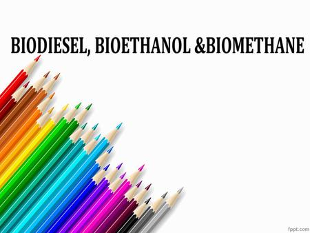 INTRODUCTION: Biofuel is a fuel that uses biomass from living organisms which may be plant, animal microorganisms etc. It uses sunlight as a renewable.