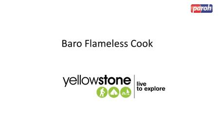 Baro Flameless Cook.
