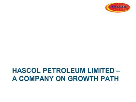 Hascol petroleum Limited – a company on growth path