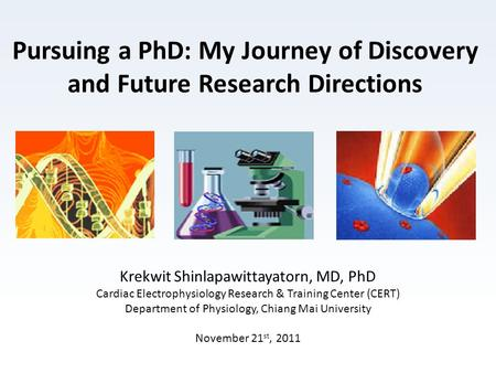 Pursuing a PhD: My Journey of Discovery and Future Research Directions