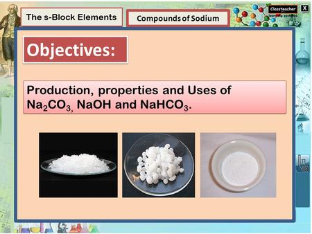 Element Elements and Compounds Compounds of Sodium Structure of Atom Compounds A compound is a substance composed of two or more elements, chemically combined.