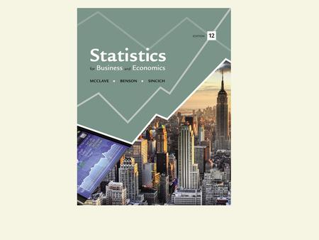Statistics for Business and Economics Chapter 3 Probability.