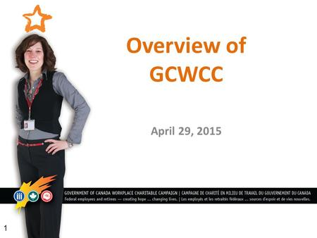 Overview of GCWCC April 29, 2015 1. Health Partners 5.