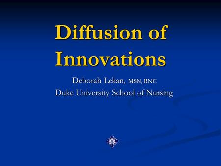 healthcare delivery in the u s diffusion of innovation and nursing practice Medicare through innovation in skilled nursing  high healthcare spending in the us and discuss  or practice's merit-based.