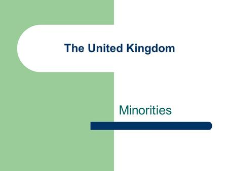 The United Kingdom Minorities. Introduction and Figures 7.5% of people living in UK were born abroad. the picture shows the concentration of people born.