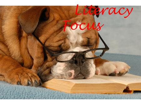 Literacy Focus. Last Month's Topic: Readability Scoring.
